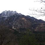 Ausblick ins Tote Gebirge - Fäustling und Pulverhörndl