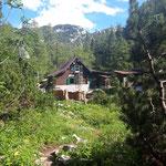 Bei der Rinnerhütte angekommen