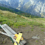 Hier ein paar Fotos vom Abstieg