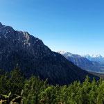 Ausblick am Gipfel - Haller Mauern und Totes Gebirge