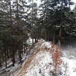 Über den schön verlaufenden Jägersteig geht es Richtung Gipfel