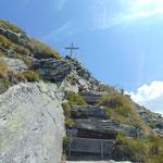 Weg auf den Graukogel - gleich hatten wir den Gipfel erreicht