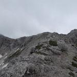 Weiterer Wegverlauf - Kreuzspitze und Hochmölbing
