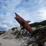Der erste Stopp: Der Dachstein Hai