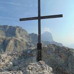 Gipfelkreuz des Sas di Stria