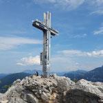 Gipfelkreuz der Drachenwand