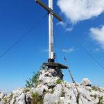 Gipfelkreuz des Katzensteins