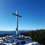 Traweng Gipfelkreuz - dahinter der Dachstein