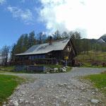 Die Gowilalm finde ich wirklich wunderschön - sowohl die Hütte an sich, als auch deren Lage
