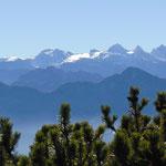 Blick auf den Dachstein Gletscher