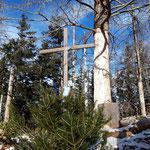 Gipfelkreuz der Scharnsteiner Spitze