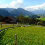Mit der Sommerrodelbahn geht es dann von der Karkogelhütte wieder zurück nach Abtenau