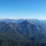 Panorama auf der Terrasse des Naturfreundehauses
