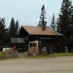 Zwischenstopp bei der Arnika Hütte