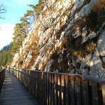 Wegverlauf des Gaisberg Rundweges