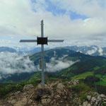Gipfelkreuz der Lindaumauer