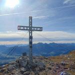 Gipfel des Hohen Nocks, mit Blick ins Tote Gebirge
