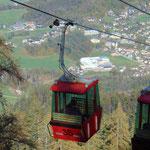 Wieder runter nach Bad Ischl mit der Katrinbahn