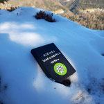 Gipfelbuch des Kleinen Warschenecks