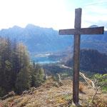 Gipfelkreuz des Brandberges