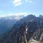 Ausblick auf den Gosaukamm und den Dachstein