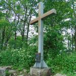 Gipfelkreuz des Hirschwaldsteins