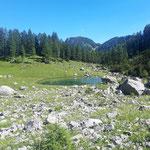 Brunnsteiner See - wieder im Wurzeralmkessel