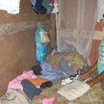 les enfants vivent dans un espace restreint sans confort