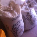 Les sacs de nourriture