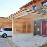 Carport und Eingangsüberdachung