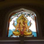 Ganesha, diesen Gott sieht man hier fast überall