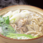 鶏とごぼう鍋