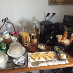 En Baie de somme petit déjeuner compris dans le prix des chambres d'hôtes de charme LA VILLA EN BAIE
