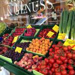 色とりどりの野菜や果物たち