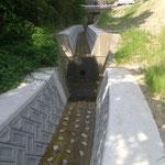 水路復旧工事完成