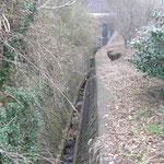 水路復旧工事着工前