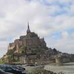 Le Mont Saint Michel par la route