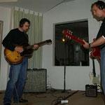 Mit den T-Tones im Studio