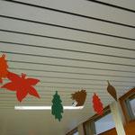 Herbstliche Gangdekoration
