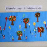 3a Drachensteigen im Herbstwind-Collage