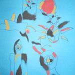 3.Kl. Malen wie Miro