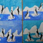 2.Kl. Pinguine im Eismeer