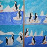 2.Kl. Pinguine im Eismee