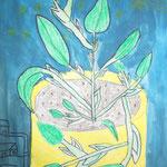 4a Pflanze im Blumentopf