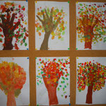 1b Fingerdruck-Bäume