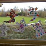 2.Kl. Gespenst-Fensterbild