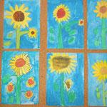 2.Kl. Sonnenblumen