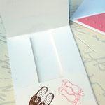Einsteckkarte für Geldnote