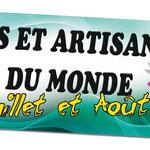 Banderole Arts et Artisanats du Monde - Montignac