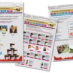 Site internet avec boutique